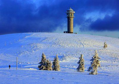 Winter auf dem Feldberg im Schwarzwald