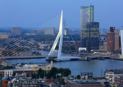 Ausblick auf Rotterdam
