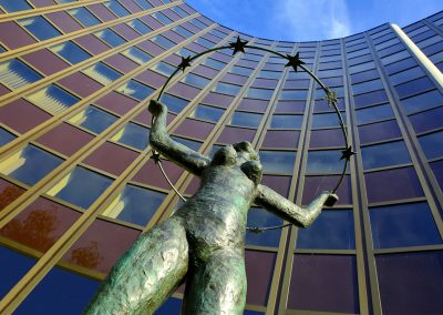 Skulptur Europaviertel Straßburg