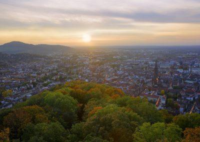 Herbststimmung über Freiburg
