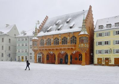 Winterliches Freiburg