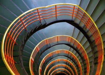 Treppenspirale Kontorhaus Hamburg